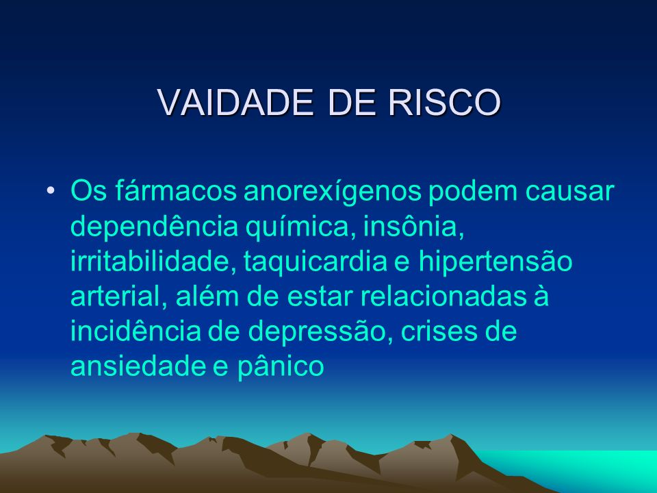 VAIDADE DE RISCO