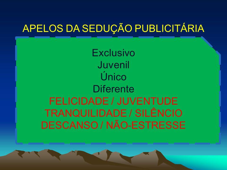 APELOS DA SEDUÇÃO PUBLICITÁRIA