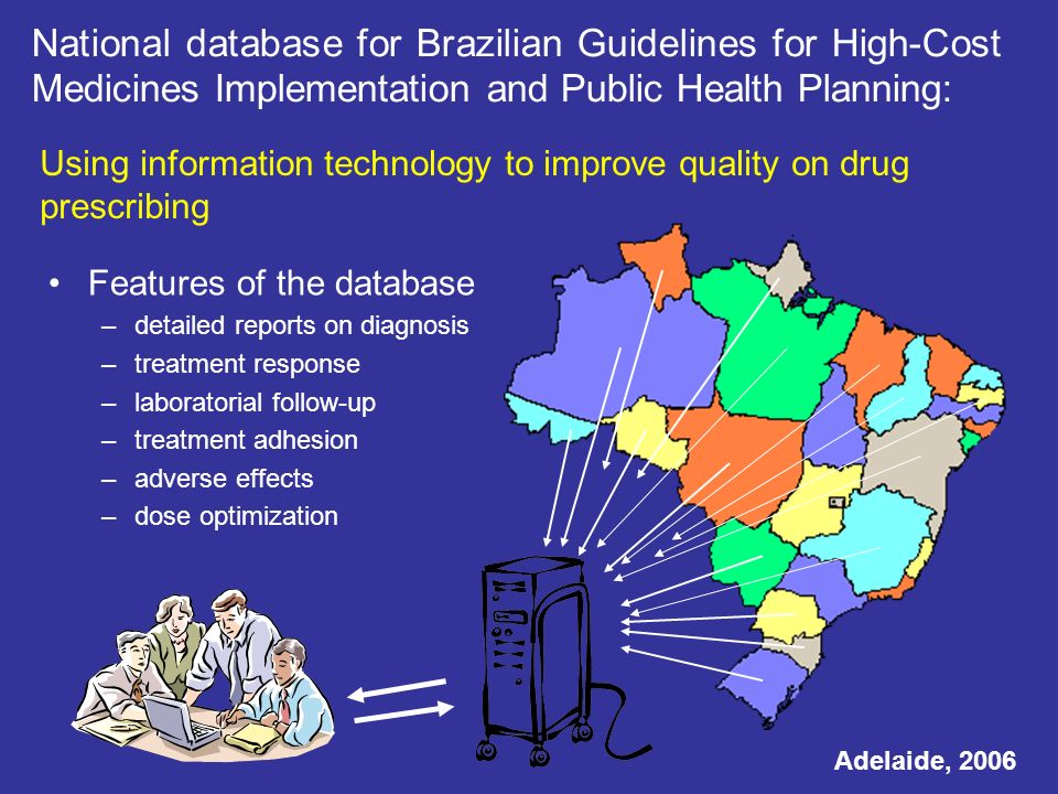 National database for Brazilian Guidelines for High-Cost Medicines Implementation and Public Health Planning: