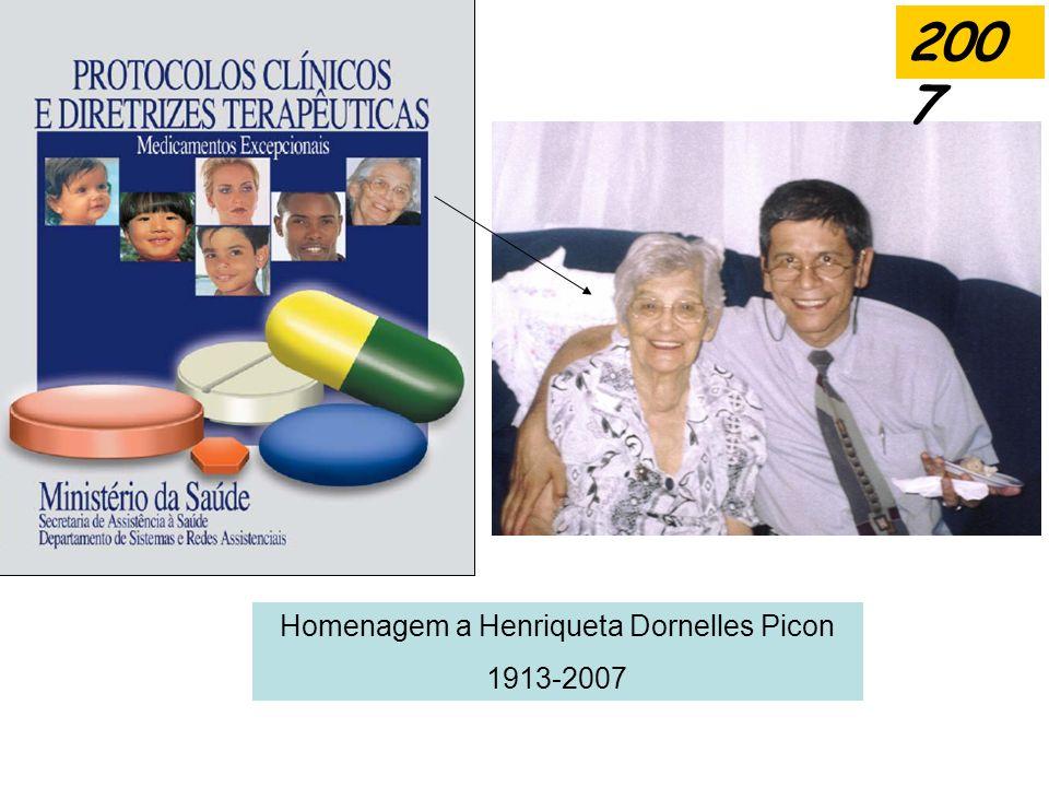 Homenagem a Henriqueta Dornelles Picon