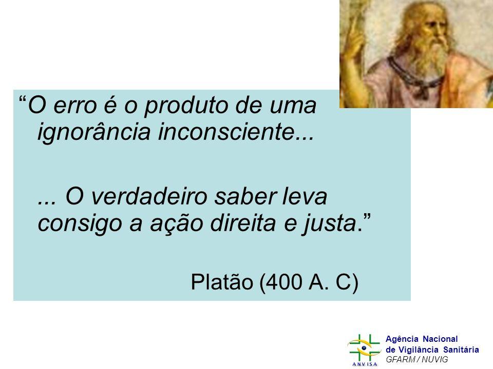 O erro é o produto de uma ignorância inconsciente...