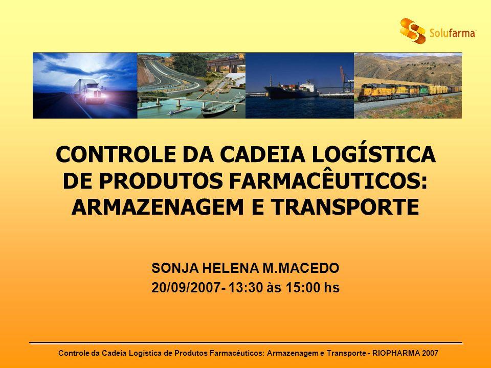 SONJA HELENA M.MACEDO 20/09/2007- 13:30 às 15:00 hs
