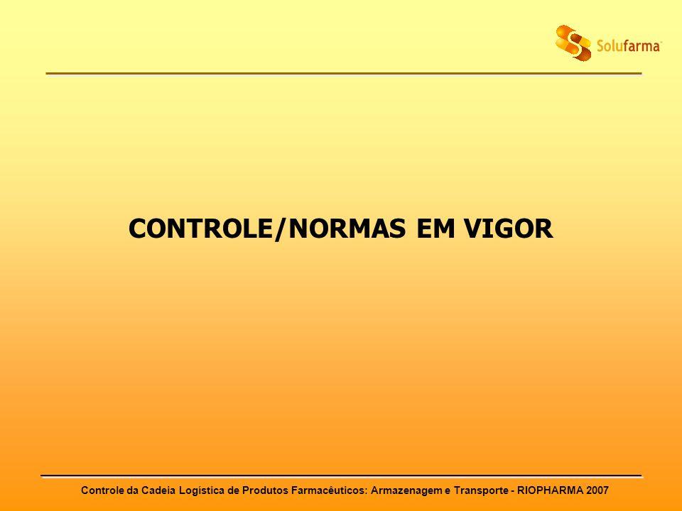 CONTROLE/NORMAS EM VIGOR