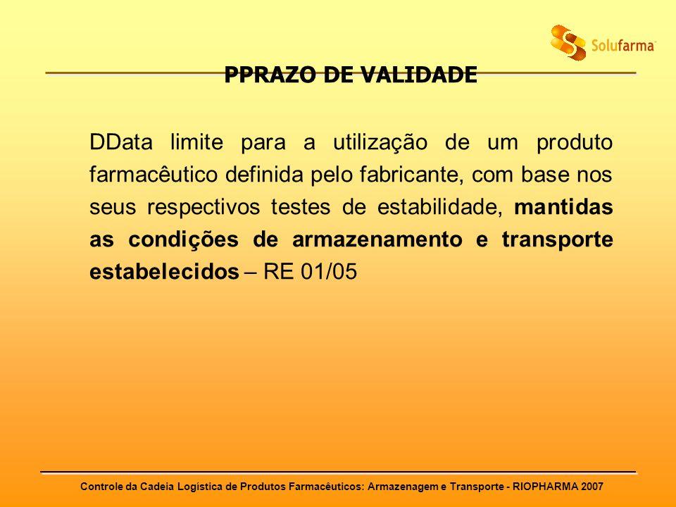 PPRAZO DE VALIDADE