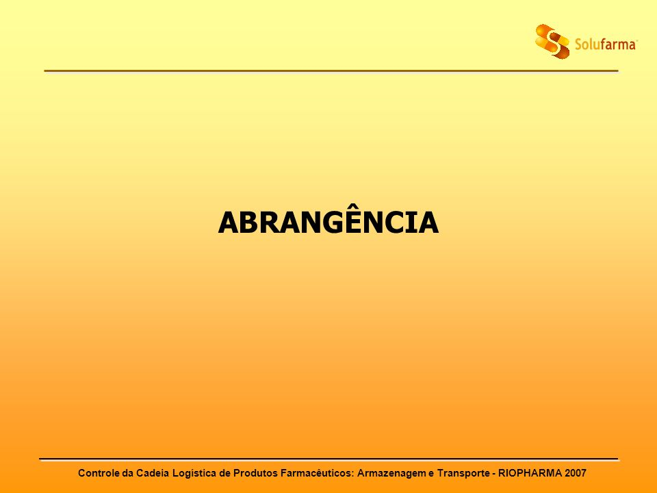 ABRANGÊNCIA