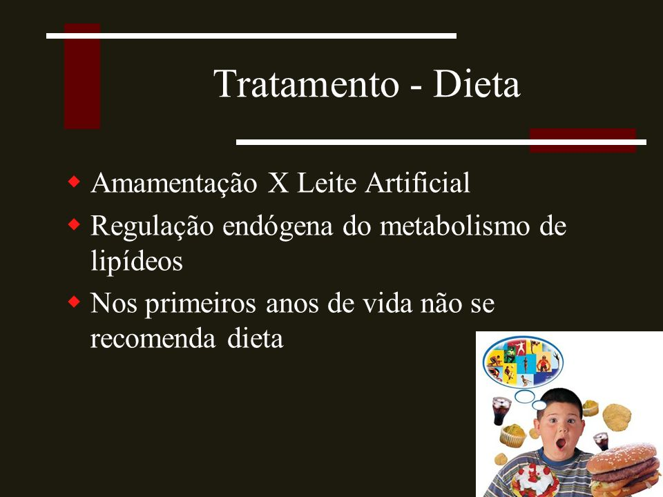 Tratamento - Dieta Amamentação X Leite Artificial