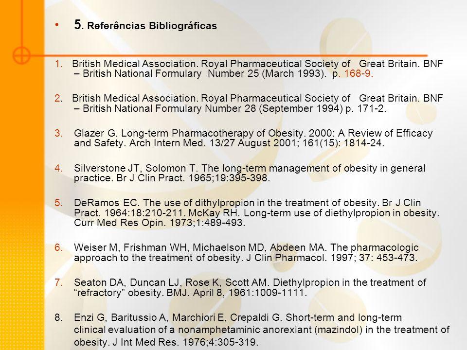 5. Referências Bibliográficas