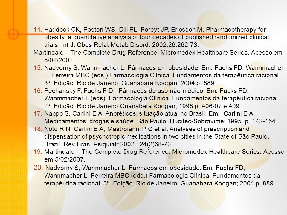 14. Haddock CK, Poston WS, Dill PL, Foreyt JP, Ericsson M