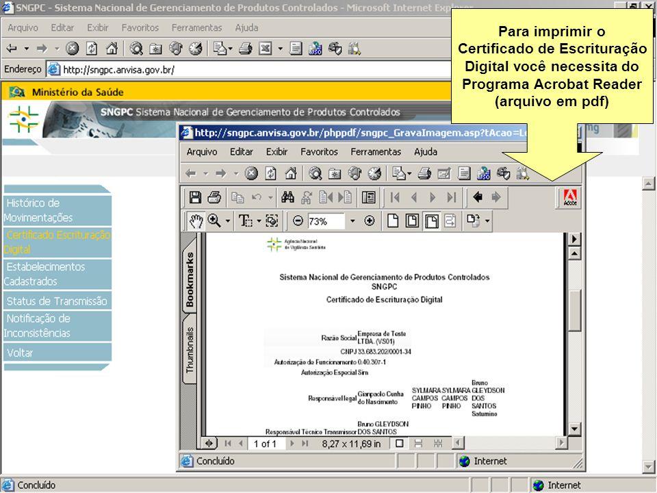 Certificado de Escrituração Digital você necessita do