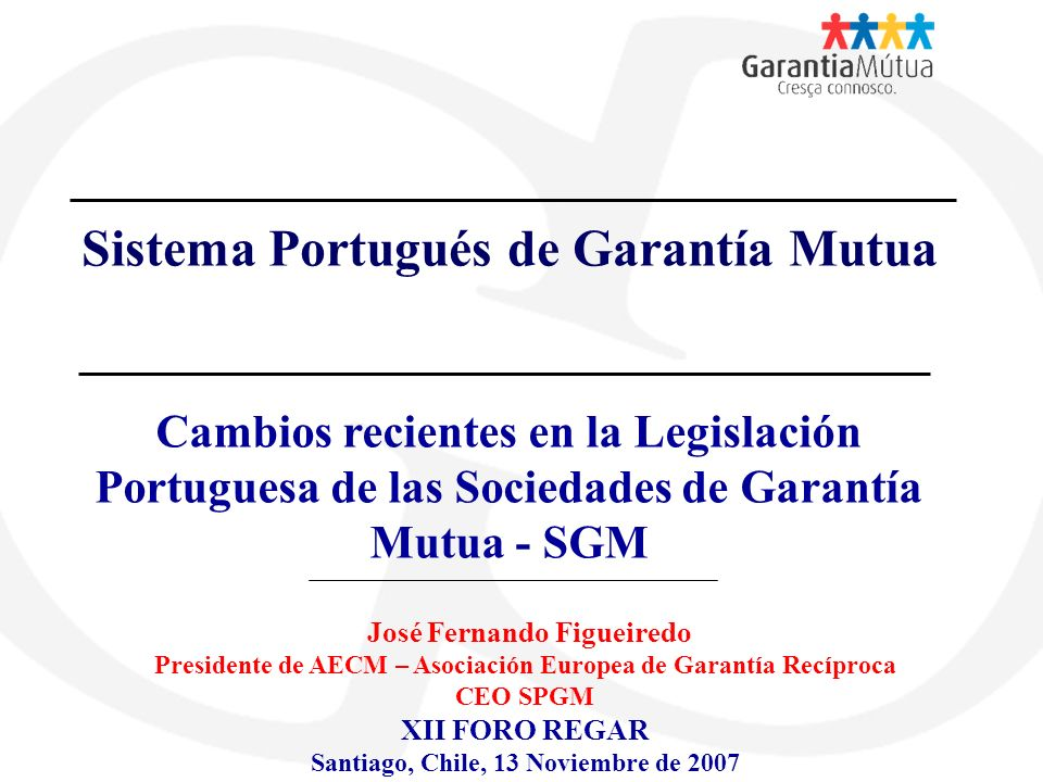 Sistema Portugués de Garantía Mutua