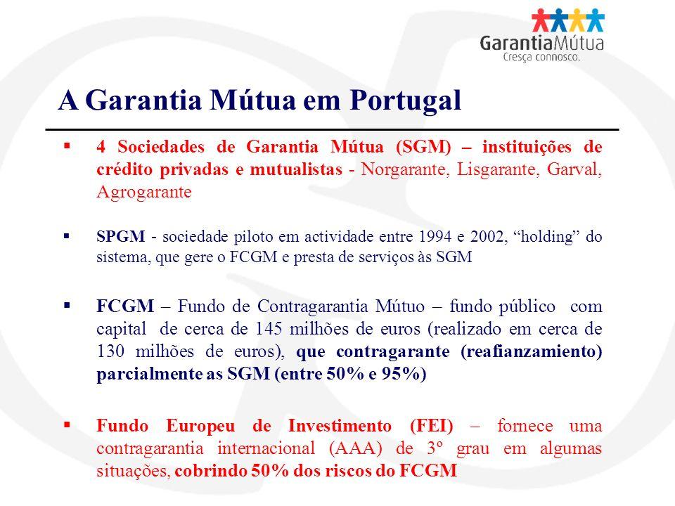 A Garantia Mútua em Portugal
