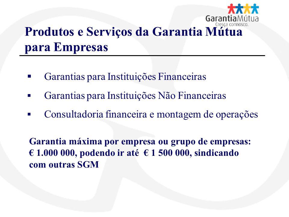 Produtos e Serviços da Garantia Mútua para Empresas