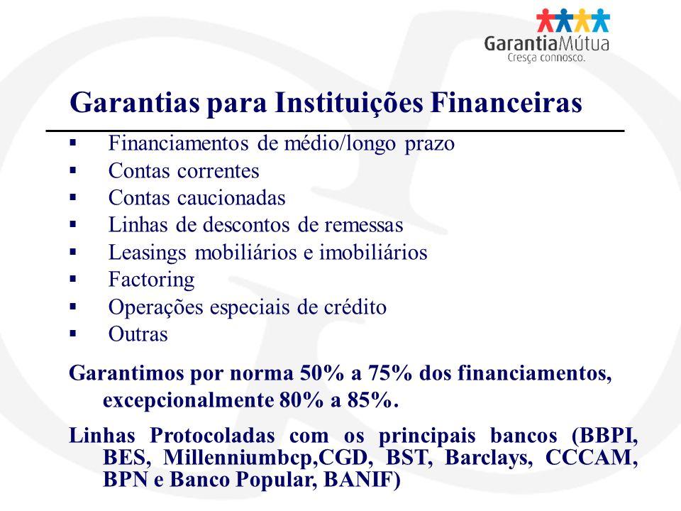 Garantias para Instituições Financeiras