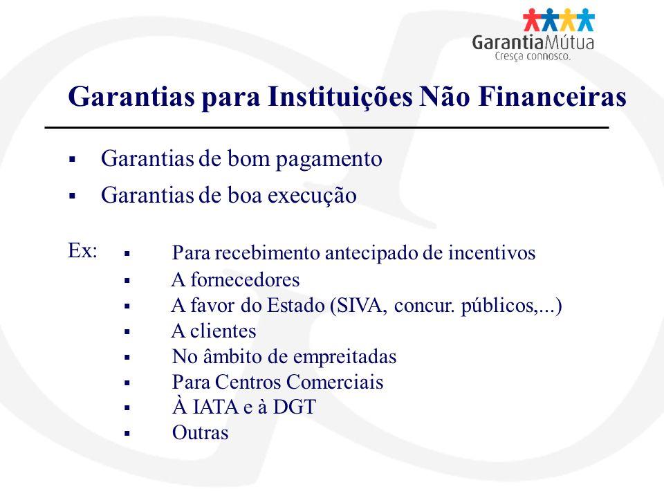 Garantias para Instituições Não Financeiras