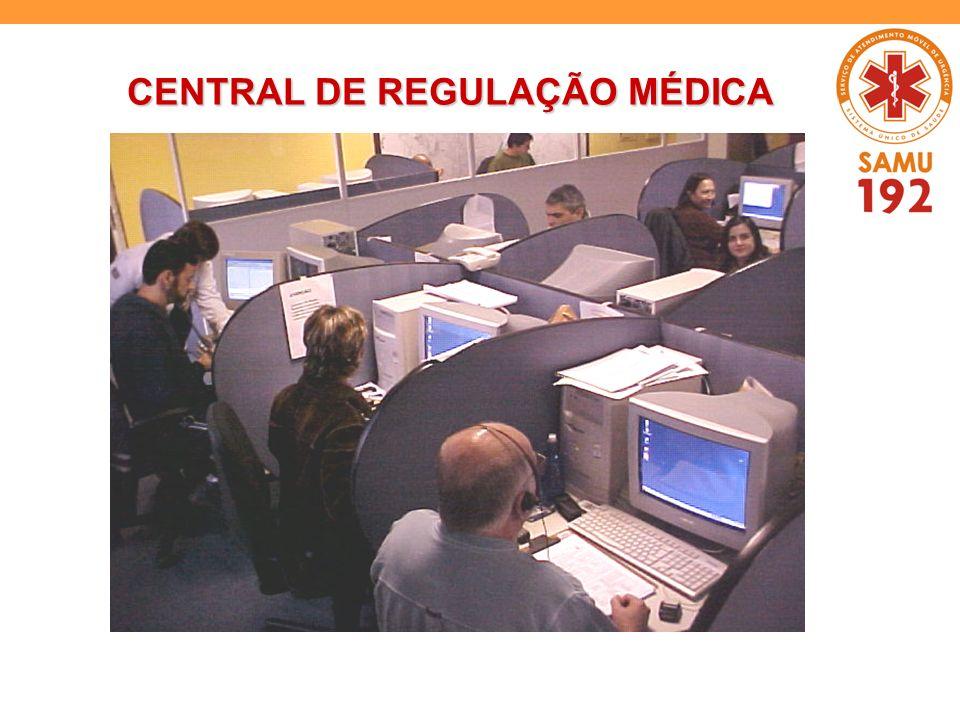 CENTRAL DE REGULAÇÃO MÉDICA