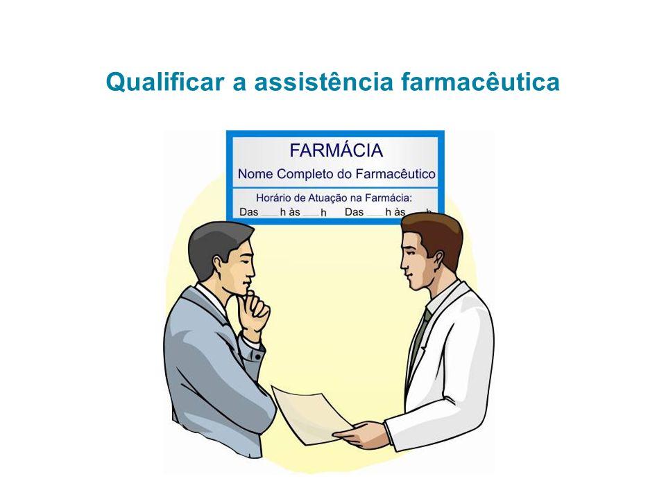 Qualificar a assistência farmacêutica