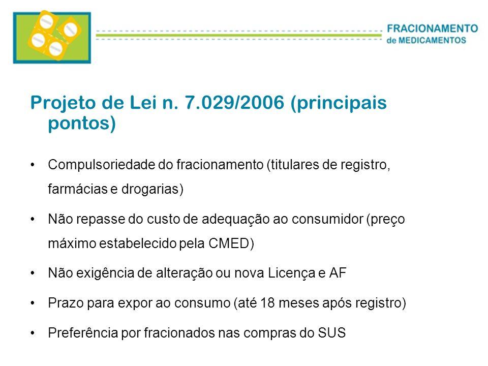 Projeto de Lei n. 7.029/2006 (principais pontos)