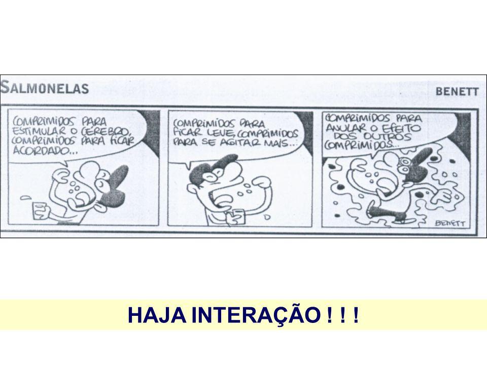 HAJA INTERAÇÃO ! ! !