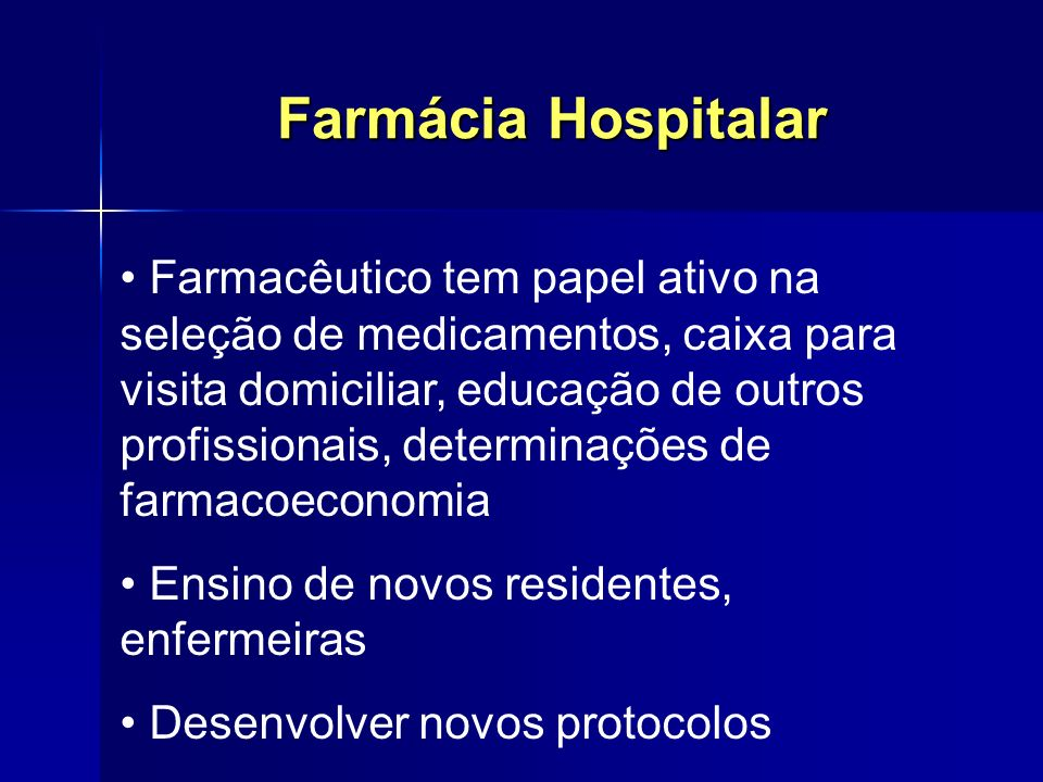 Farmácia Hospitalar