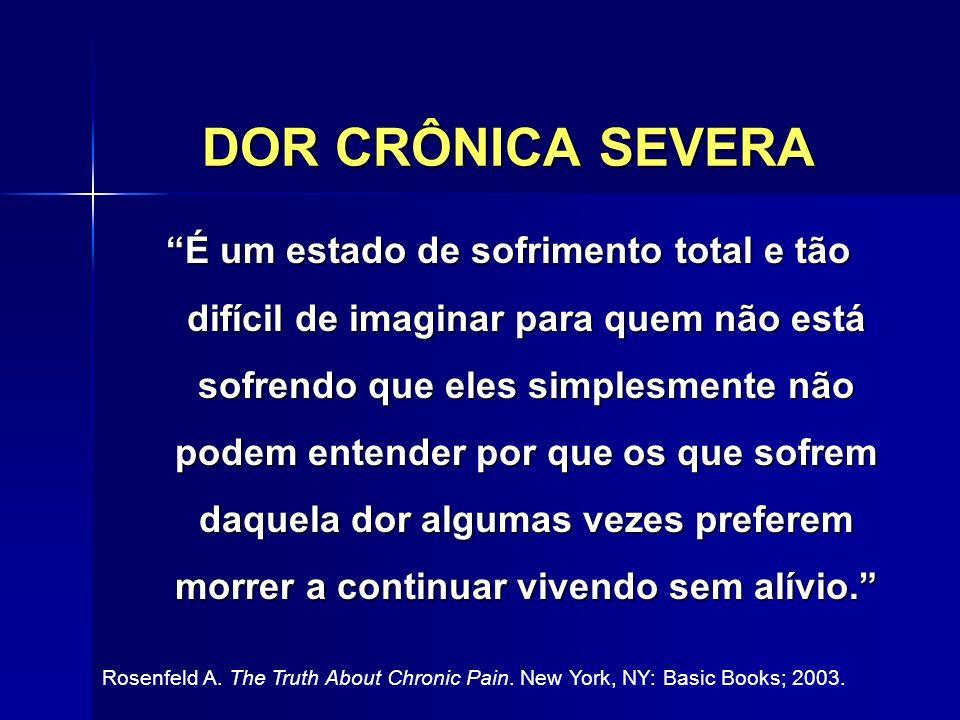DOR CRÔNICA SEVERA