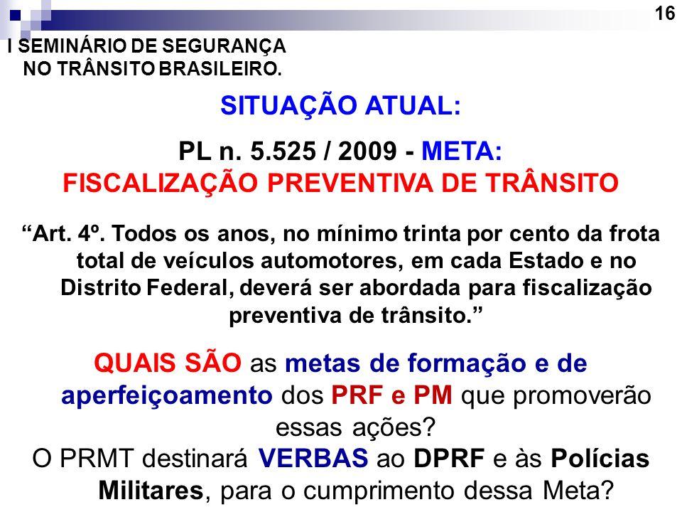 FISCALIZAÇÃO PREVENTIVA DE TRÂNSITO
