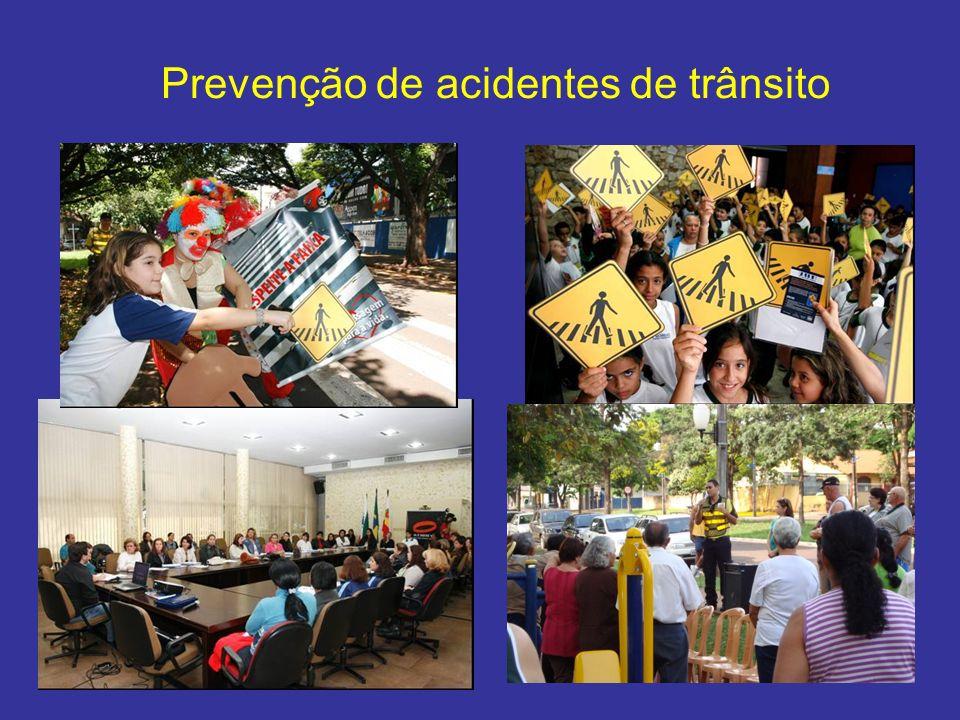 Prevenção de acidentes de trânsito