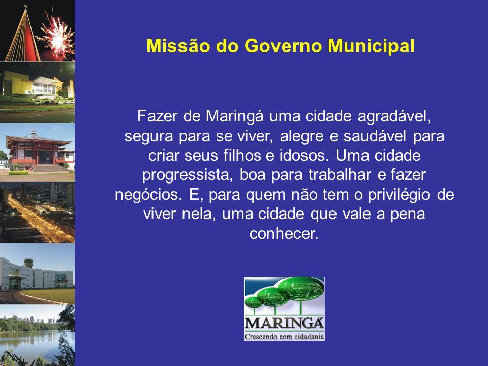 Missão do Governo Municipal