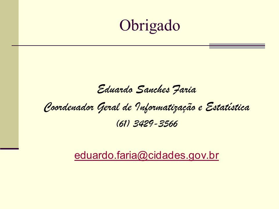 Coordenador Geral de Informatização e Estatística