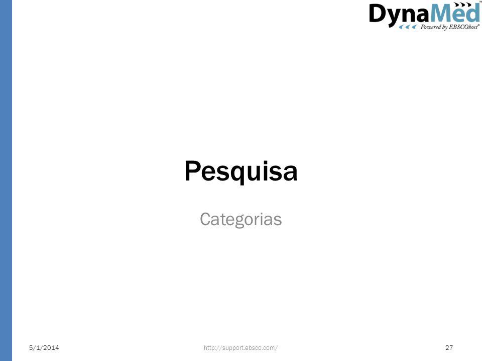 Pesquisa Categorias 24/03/2017 http://support.ebsco.com/