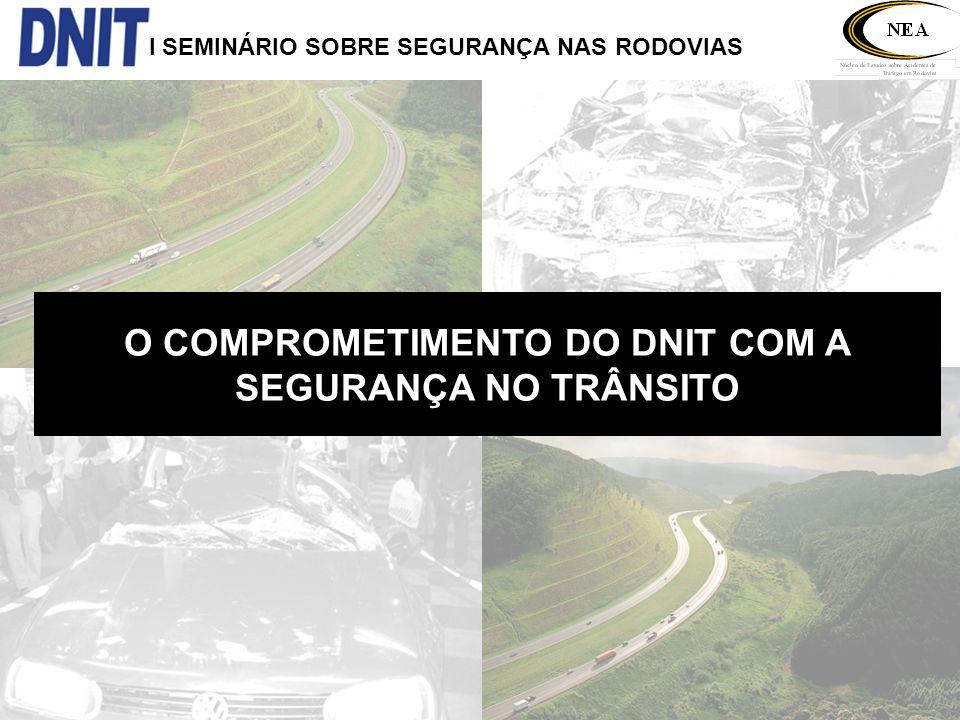 O COMPROMETIMENTO DO DNIT COM A SEGURANÇA NO TRÂNSITO