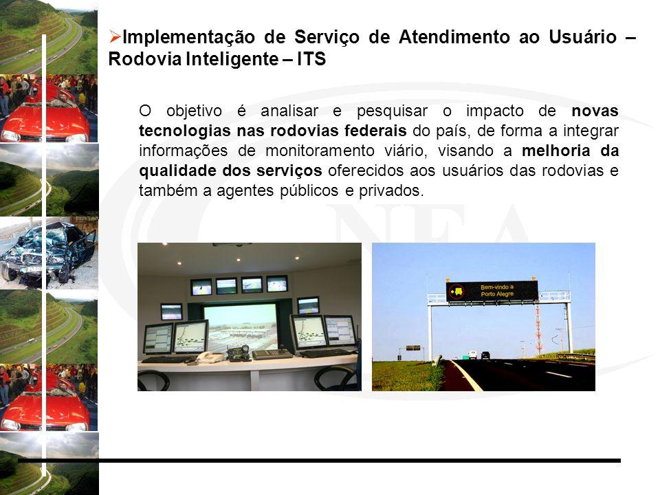 Implementação de Serviço de Atendimento ao Usuário – Rodovia Inteligente – ITS