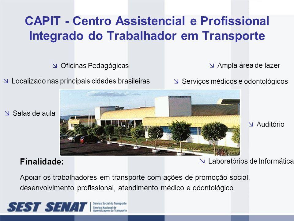 CAPIT - Centro Assistencial e Profissional Integrado do Trabalhador em Transporte