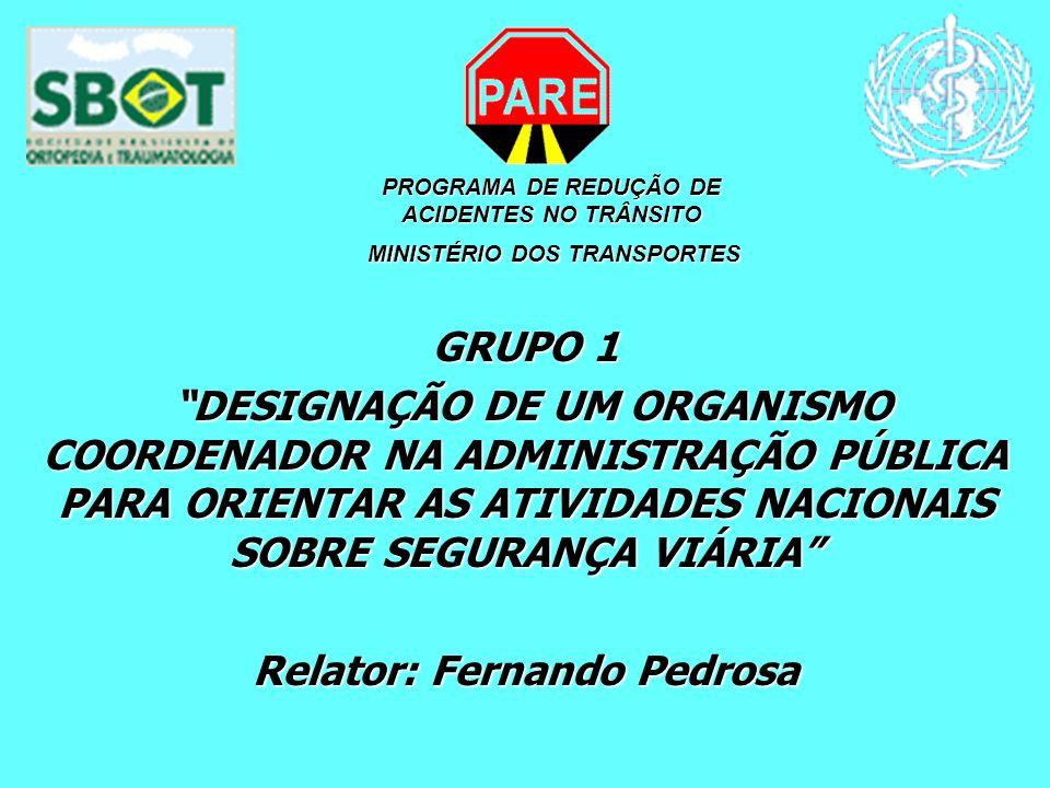 Relator: Fernando Pedrosa