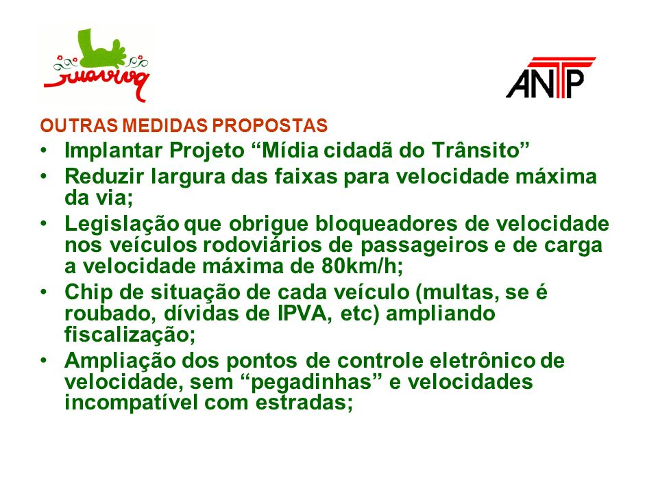 Implantar Projeto Mídia cidadã do Trânsito