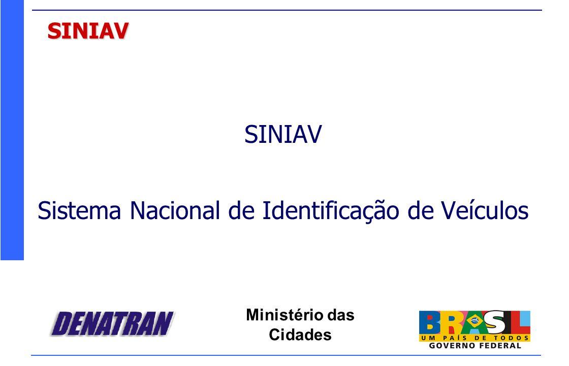 Sistema Nacional de Identificação de Veículos