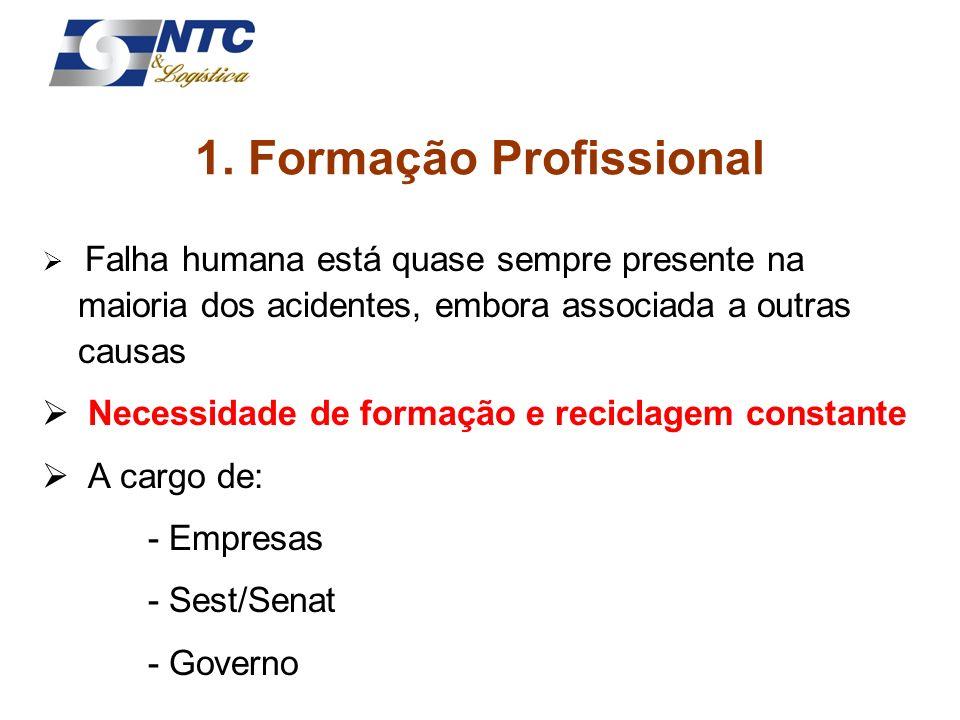 1. Formação Profissional