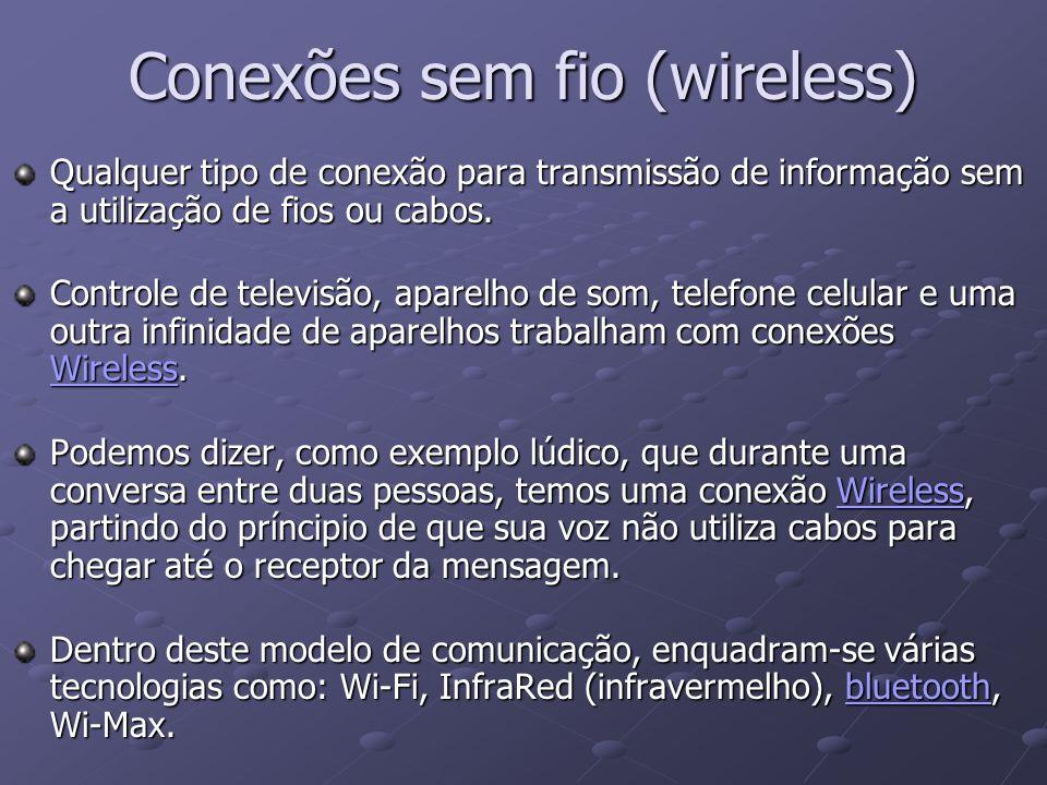 Conexões sem fio (wireless)
