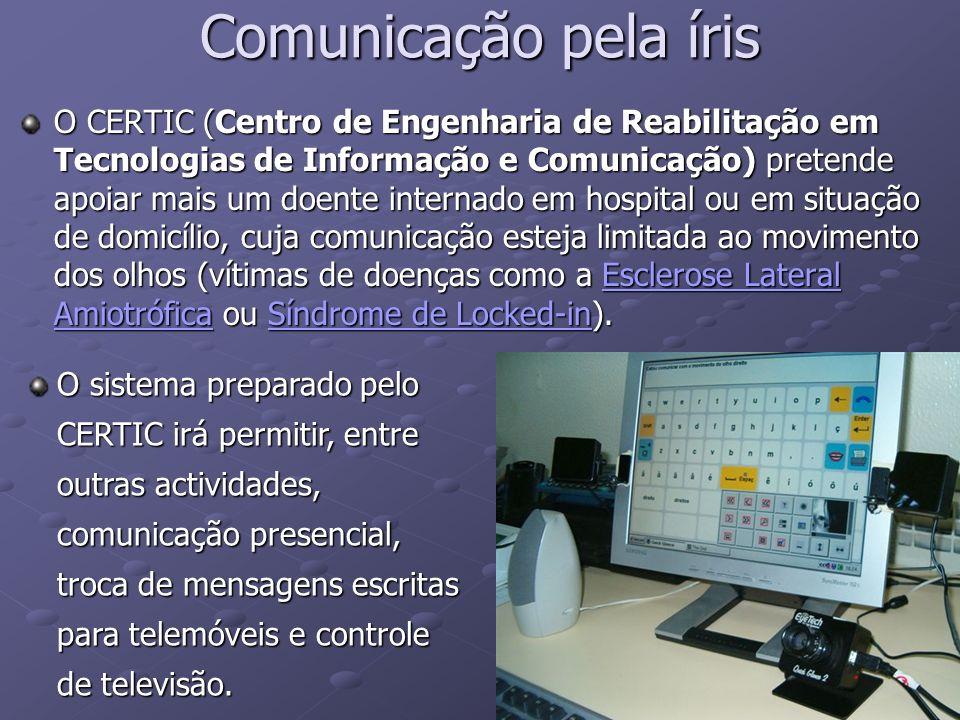 Comunicação pela íris
