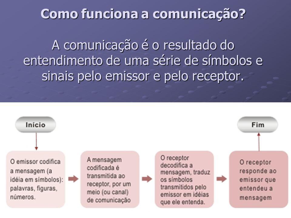 Como funciona a comunicação