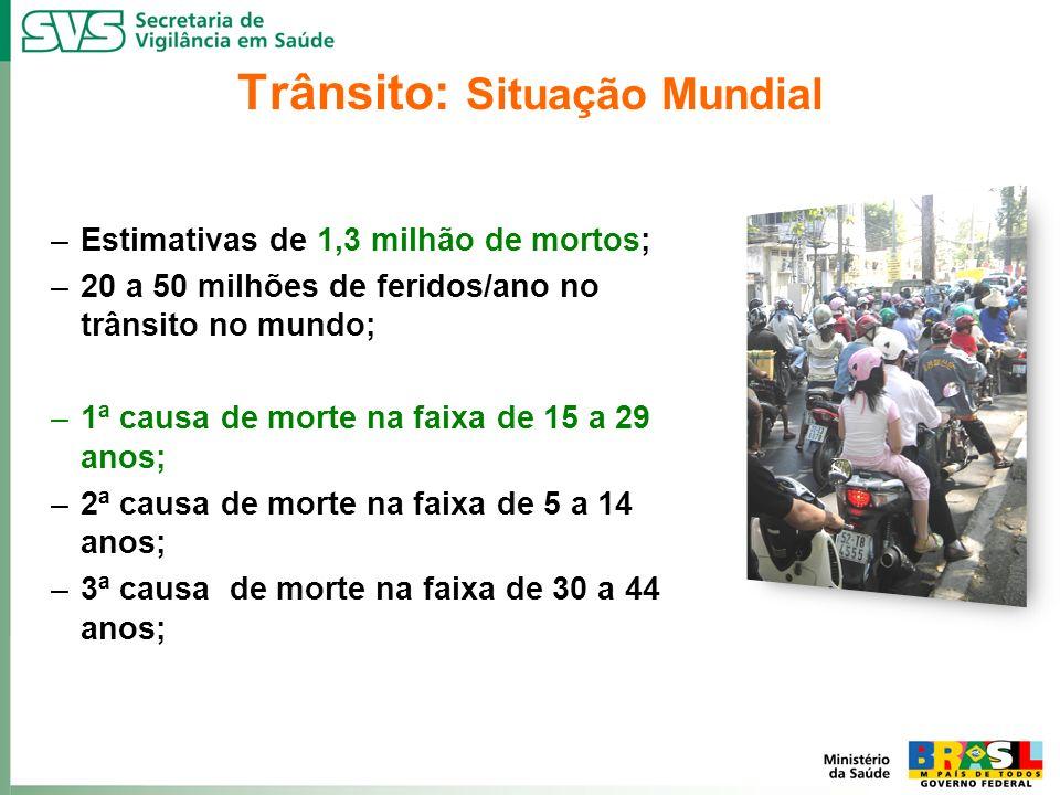 Trânsito: Situação Mundial