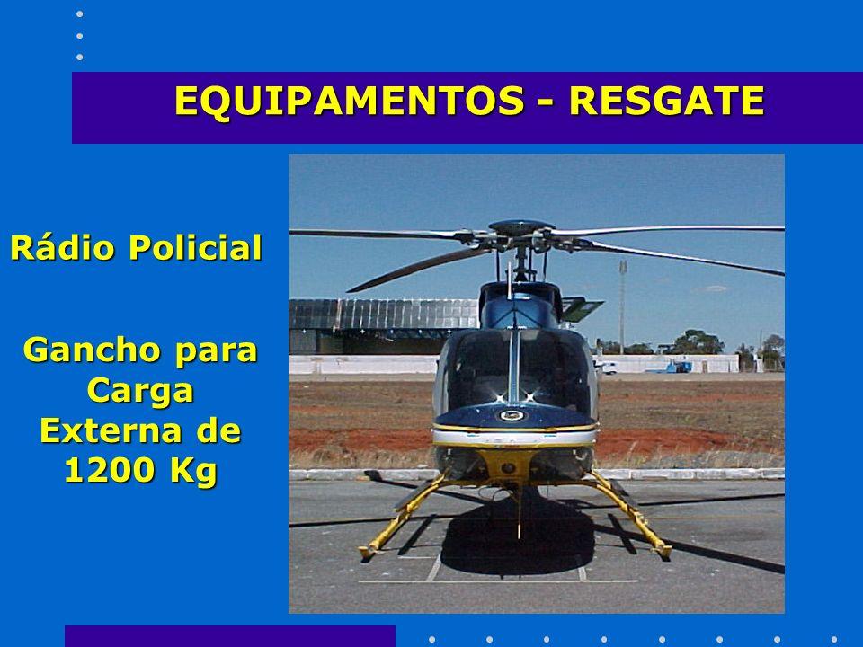 EQUIPAMENTOS - RESGATE Gancho para Carga Externa de 1200 Kg