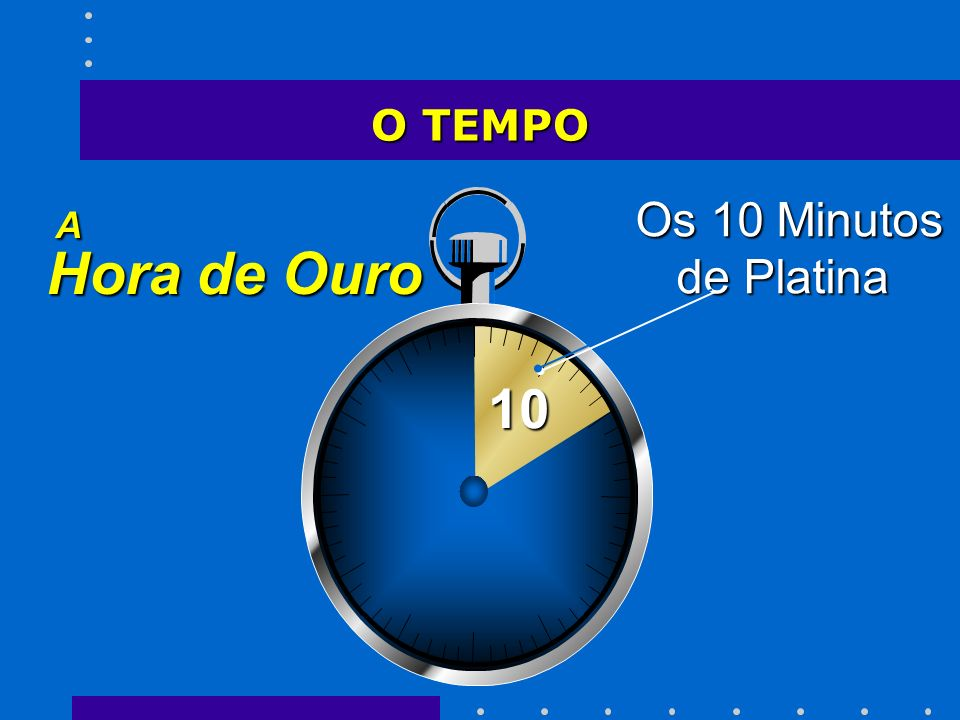 O TEMPO A Hora de Ouro 10 Os 10 Minutos de Platina