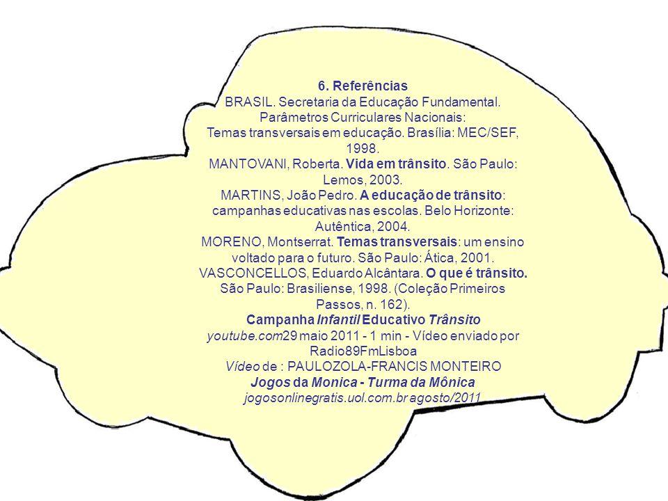Temas transversais em educação. Brasília: MEC/SEF, 1998.