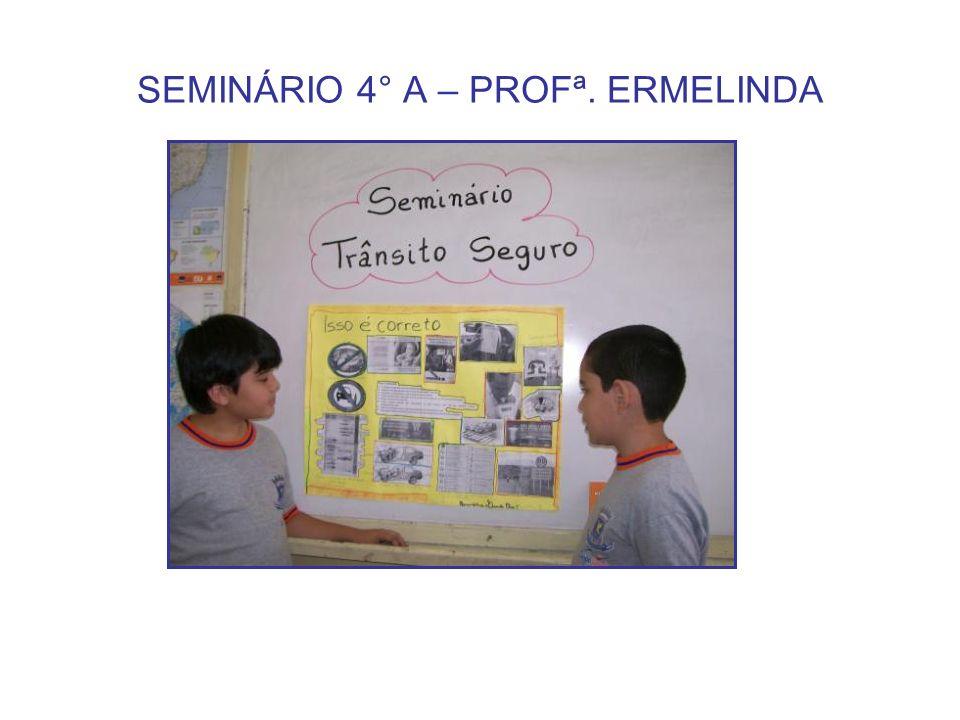 SEMINÁRIO 4° A – PROFª. ERMELINDA