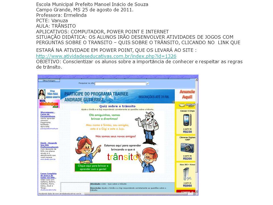 Escola Municipal Prefeito Manoel Inácio de Souza
