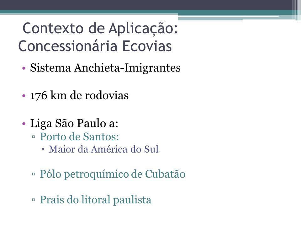 Contexto de Aplicação: Concessionária Ecovias
