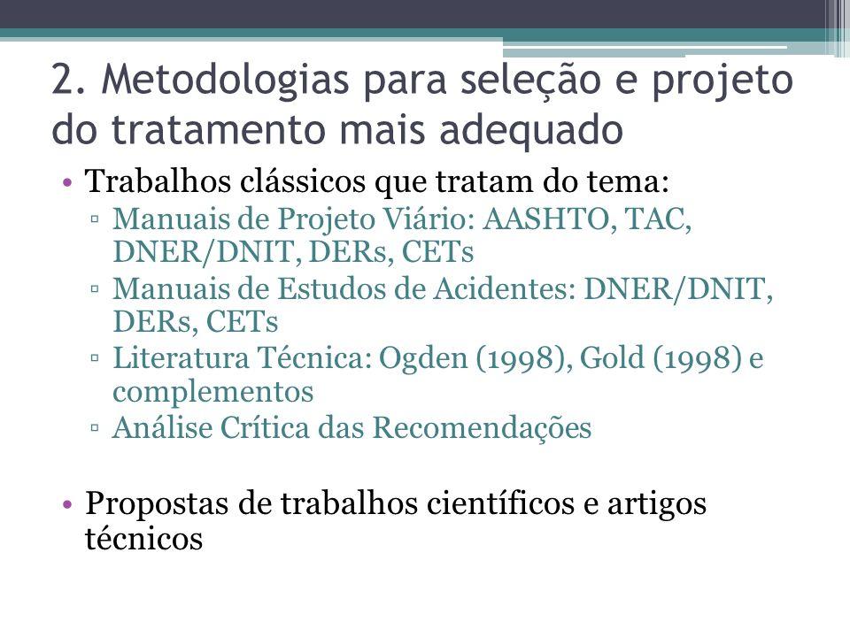 2. Metodologias para seleção e projeto do tratamento mais adequado