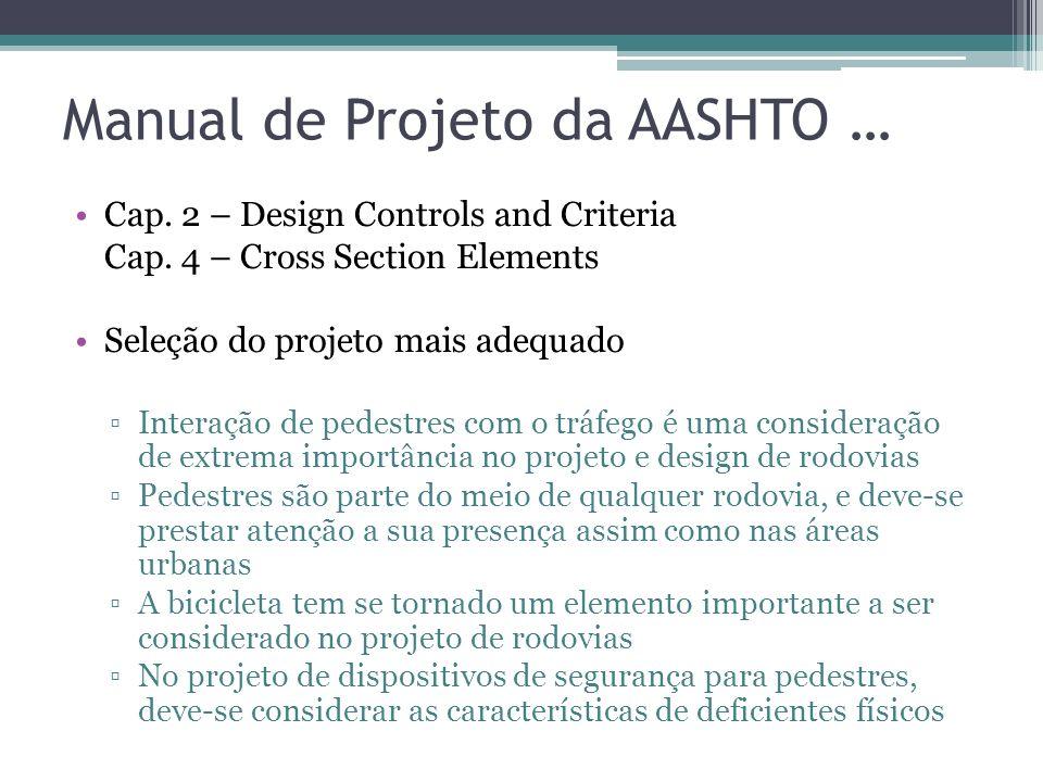 Manual de Projeto da AASHTO …