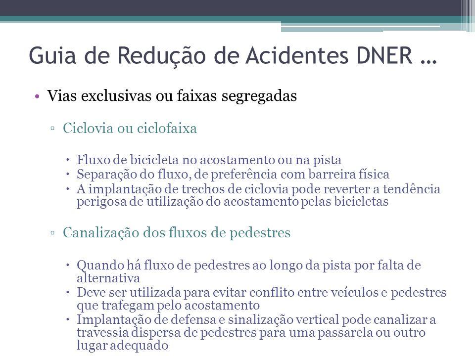 Guia de Redução de Acidentes DNER …