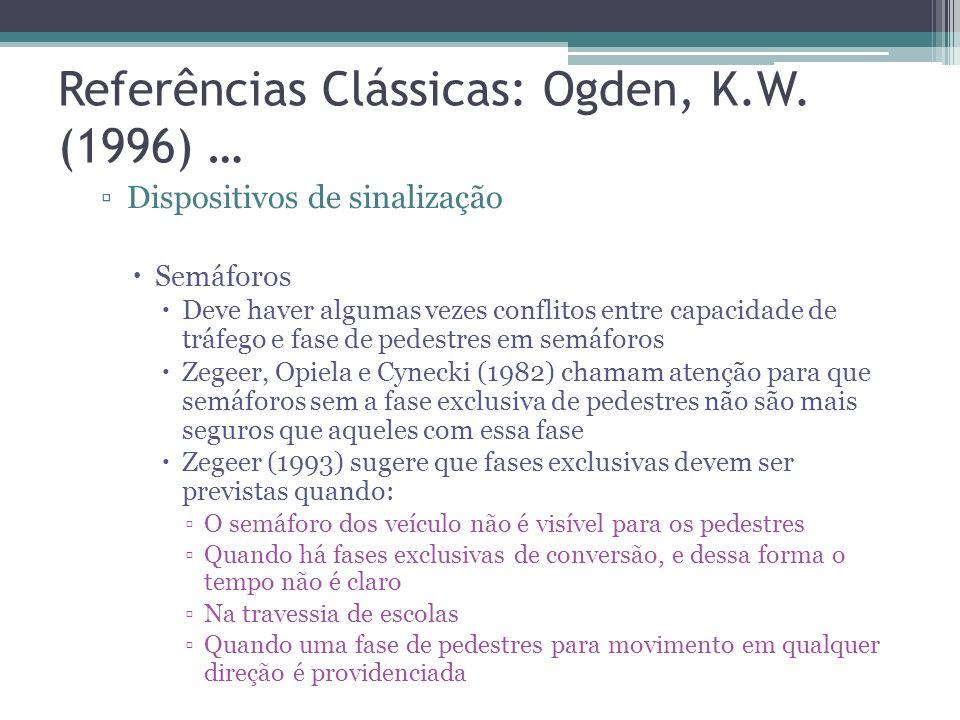 Referências Clássicas: Ogden, K.W. (1996) …
